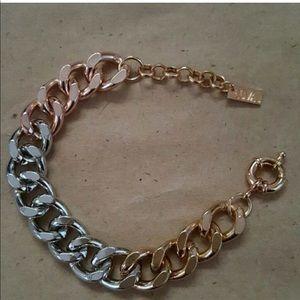BAUBLEBAR tri colored chain bracelet